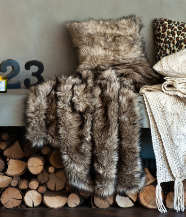 Inspired Wives - Faux Fur Blanket