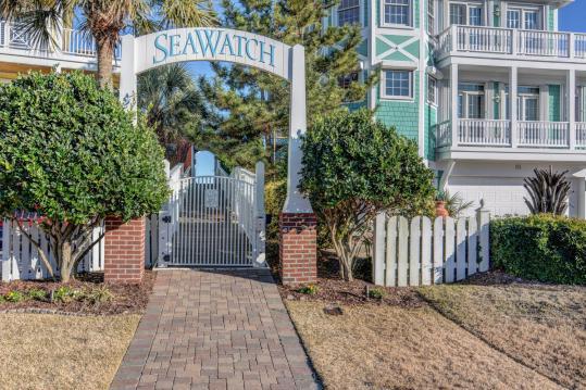 Seawatch private beach access
