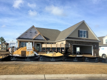 Compass Pointe - House Under Construction